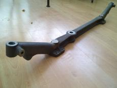 image of MG K-Type Axle, vintage car part, side full view