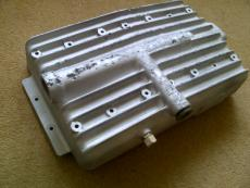 Pre-repaired 1930s MG Aluminium Sump