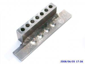 stock image of Chain Drilling Jig