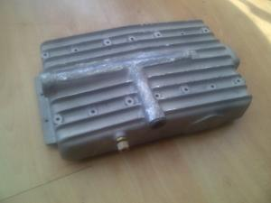 Repaired 1930s MG Aluminium Sump